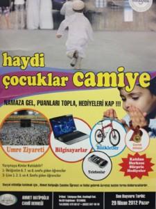 Fotoğraf: Ahmet Hatipoğlu Cami Derneği